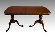18132 Mahogany Chippendale Dining Room Table by Drexel