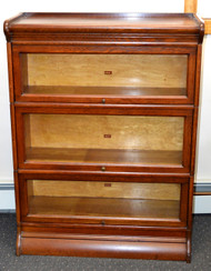 18231 Oak Victorian Sectional Bookcase by Weir