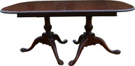 SOLD Mahogany Carved Chippendale Custom Dining Table