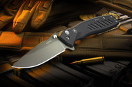 "Pallas ""Black Out"" Button Lock Folder - Flipper"