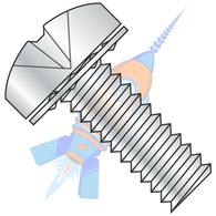 1/4-20 x 1/2 Phillips Pan Internal Sems Machine Screw Fully Threaded Zinc