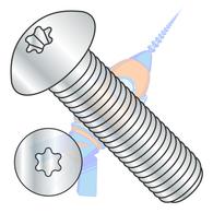 M3-0.5 x 10 ISO7380 Metric 6 Lobe Button Head Cap Screw Class 10.9 Zinc