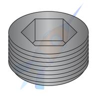 1/4 Dry Seal Socket Pipe Plug Plain