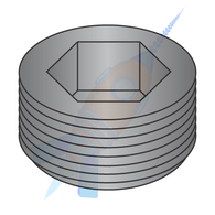 1/16 Dry Seal Socket Pipe Plug Plain