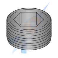1 Flush Seating Socket Pipe Plug Plain