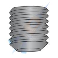 10-24 x 1/4 Coarse Thread Socket Set Screw Flat Point Plain
