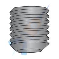1/4-28 x 3/8 Fine Thread Socket Set Screw Flat Point Plain