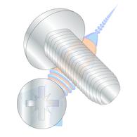 M2-0.4 x 5 Din 7500 C Metric Type Z Pan Thread Rolling Screw Zinc