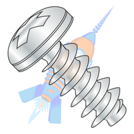3-1.34 x 6 Metric Phillips Pan Head PT Alternative Fully Threaded Zinc &