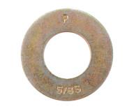 1/4 Machine Screw Washer Black Zinc