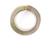 #8 Medium Split Lock Washer Black Zinc