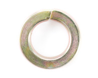 1 INCH High Alloy Regular Split Lock Washer AISI 4037 Zinc Yellow USA