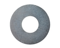 #10 USS Flat Washer Black Zinc