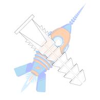 6-8 Plastic Anchor #6 Diameter