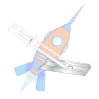 1/8 6-32 Kaptoggle Zinc 1/8 Diameter