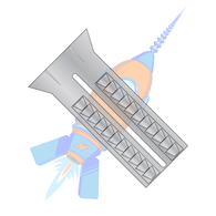 6-8 x 1 Lead Alloy Anchor #6 Diameter