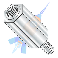 M2.5-0.45 x 8 4.5 MM Hex Male Female Standoff Aluminum