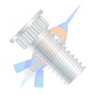 6-32 x 3/8 Broaching Type Clinch Stud F/T Phosphor Bronze Electro Tin Plate