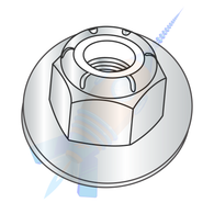 M10-1.5 Din6926/ISO7043 Metric class 8 Prevail Torque Nylon Insert Hex Flange Lock Nut Z