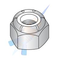 M2.5-0.45 Din 985 Metric Nylon Insert Hex Lock Nut 18-8 Stainless Steel