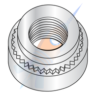 M2.5 x 0.45-0 Metric Self Clinching Nut Zinc
