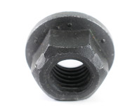 1-8 Stover Equivalent Lock Nut Automation Style with Flange Grade G Black Phosphate