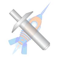 3/16 x 1/8 Liner Aluminum Rivet