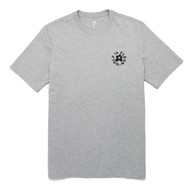 GOLF Le FLEUR ESSENTIAL EMBROIDERED TEE - GREY
