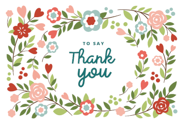 Free downloadable printable thank you cards thats mine labels greetings island has a huge range of gorgeous thank you cards that you can customize and then easily print out at home for free m4hsunfo