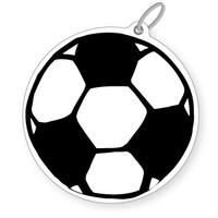 Soccer Ball Bag Tag