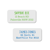 Style your own Designer Address Labels