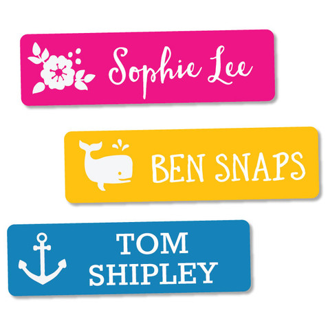 Our sizeables labels have stylish colors and designs