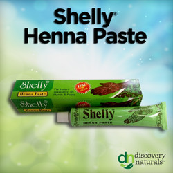 Shelly Premade Natural Henna Paste