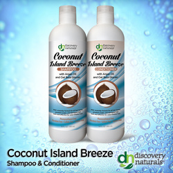 Coconut Island Breeze Shampoo & Conditioner Combo Pack