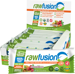 RawFusion Almond  Berry Bar - Box of 12