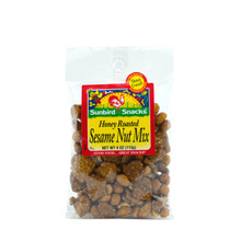 Honey Roasted Peanuts, Honey Almonds and Honey Sesame Chips
