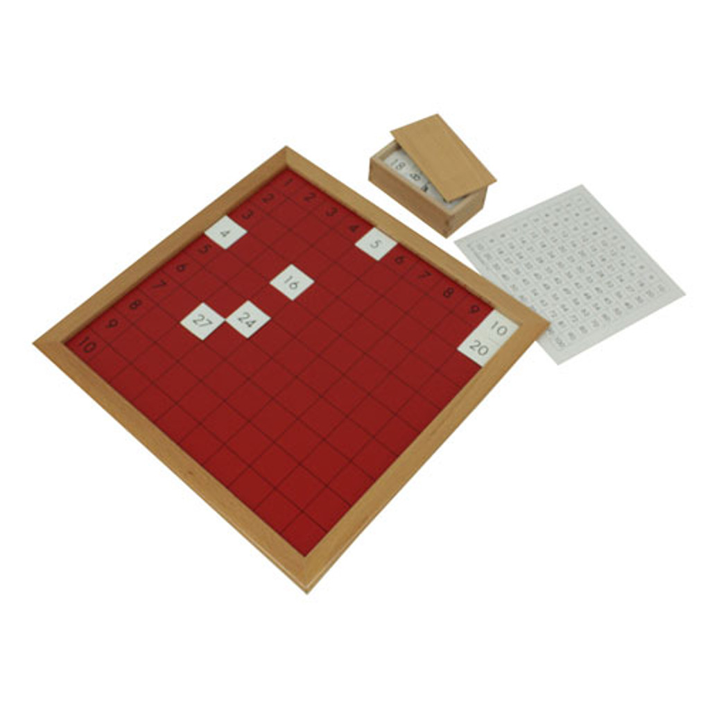 Pythagoras Board with Plastic Tiles (AMI)