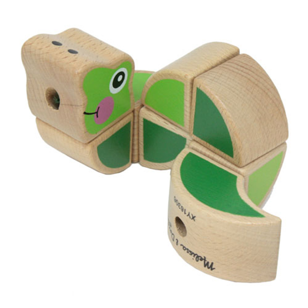 Wiggling Worm Grasping Toy