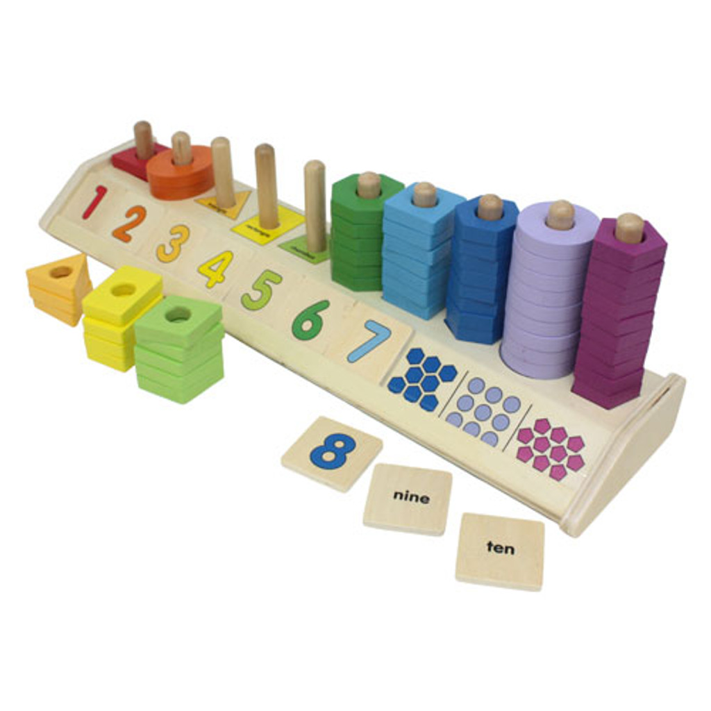 Counting Shape Stacker