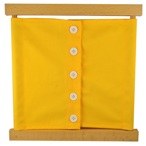 Small Buttons Dressing Frame