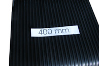 Running board rubber - Classic Style medium spaced rib