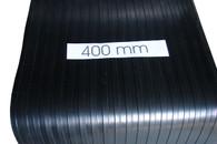 Running board rubber - Heavy Classic wide flat top rib