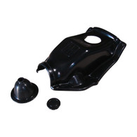 Austin A40 Fibreglass Gear box cover with rubber boot and plug