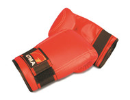 GTMA Fitness Glove; Red/Vinyl (Available in XL Size Only)