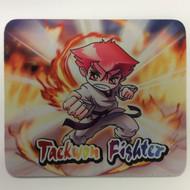 Taekwondo Themed Mouse Pad - Punch Fire