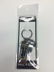 TKD Themed Key Chain - Large TKD Black