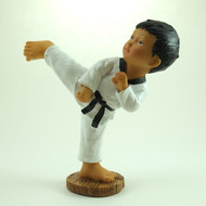 Martial Arts Figurines; Boy Side Kick