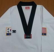 GTMA Premium Tae Kwon Do Uniform with USA/KOREA Patches