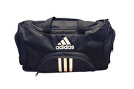 adidas Black Team Speed Duffel Bag (Medium)