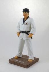 "Taekwondo Figurine (Basic Stance 7.5"" Tall)"